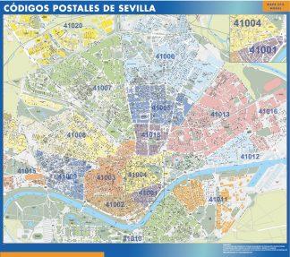Codigos Postales Barcelona Mapa.Barcelona Codigos Postales Plastificado Velleda Mapa